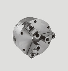 concentricity adjustable chuck for cyclematic lathes