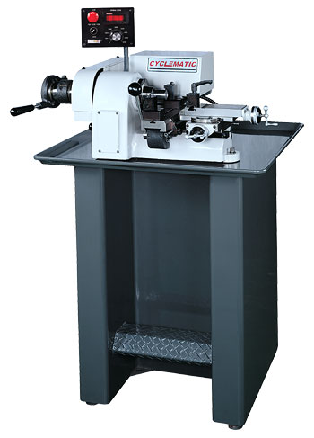 Cyclematic CP-27EVS second operation and finishing lathe
