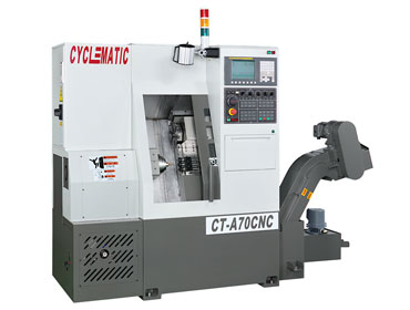 Cyclematic CT-A70 slant bed CNC lathe