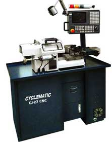 Cyclematic CJ27 second operation CNC lathe
