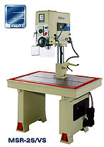 Erlo fixed table mounted geared head drill press