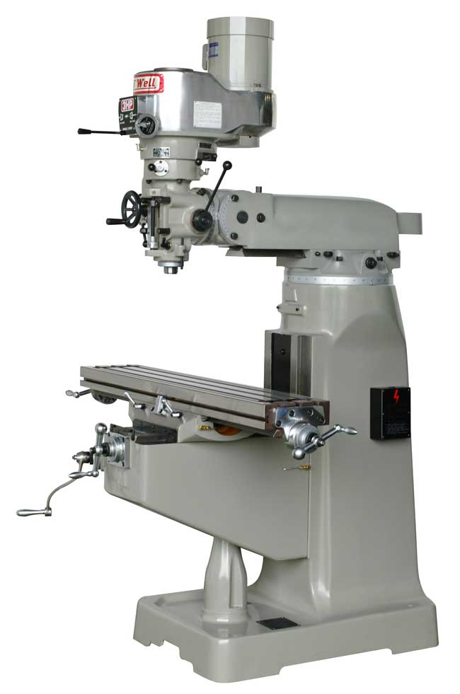 Topwell 2Vs and 3VS milling machines