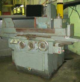 used Brown & Sharpe 10 x 30 surface grinder