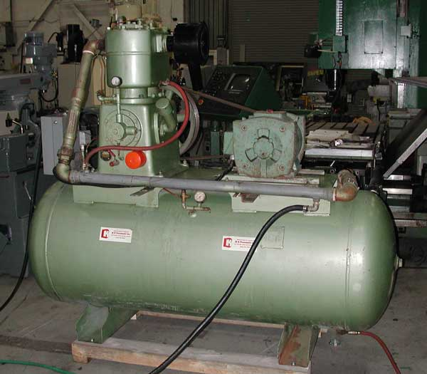 used Swan 20 Hp air compressor