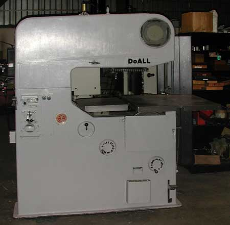 used DoAll 36-3 band saw