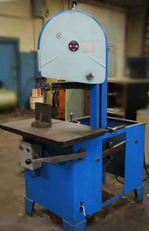 used RAM roll-in style band saw