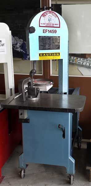 used Roll-in Band saw