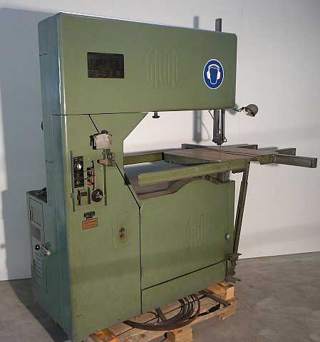 used GROB NS36-10 band saw