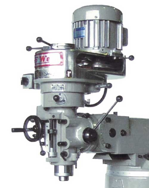 Replacement and upgrade milling machine heads for for Bridgeport mill motor replacement