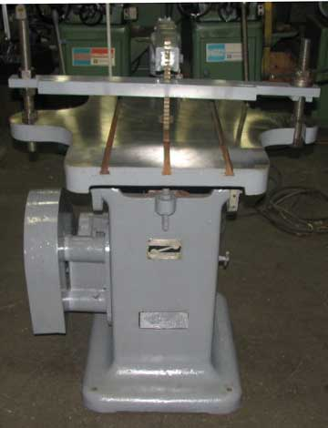 Used Davis model 5 keyseater right side